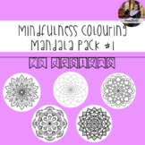 Mindfulness Colouring: Mandala #1