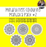 #ausbts18 Mindfulness Colouring: Mandala #2