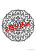 Mindfulness Colouring: Mandala #2