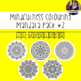 Mindfulness Colouring: Mandala #2