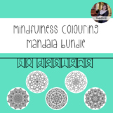 Mindfulness Colouring: Mandala Bundle