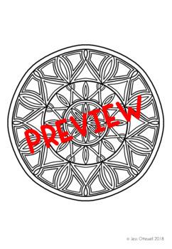Mindfulness Colouring: Mandala Bundle