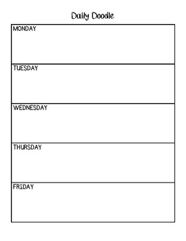 Mindfulness Daily Check In Chart
