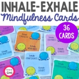 Mindfulness Cards- Dots Inhale-Exhale Focus Cards