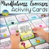 Mindfulness Exercises Cards - Digital & Print SEL Activities