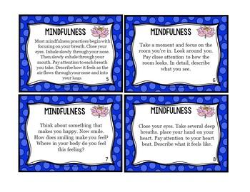 Mindfulness Exercises: Mindfulness Mandalas and Task Cards Activity Pack