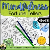 Mindfulness Fortune Tellers Counseling Lesson & Activity
