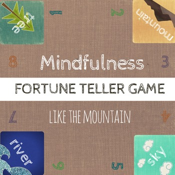 Mindfulness Game: Fortune Teller / Cootie Catcher