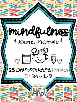 Mindfulness Journal Prompts for K-5