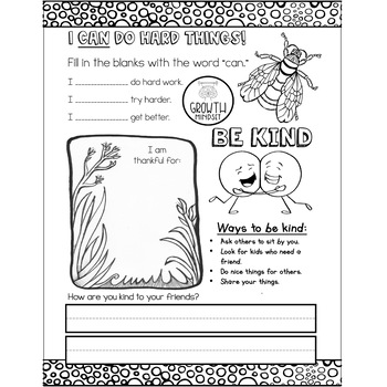Mindfulness Journal Week of Free Bell Ringers