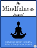 Mindfulness Journal for Primary Grades