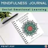 Mindfulness Journal for Students | Mandala | 25 Positive B