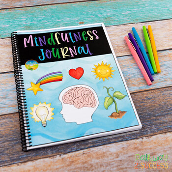 Mindfulness Journal for the Year - Distance Learning and Google Classroom