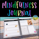 Mindfulness Journal for the Year | Digital & Print SEL Activities