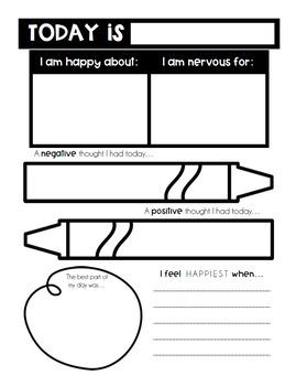 Mindfulness Journals BUNDLE for Students & Teachers