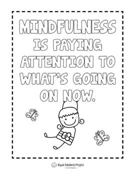 Mindfulness - for Anxiety, Anger and Classroom Management - A4