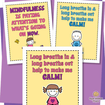 Mindfulness - for Anxiety, Anger and Classroom Management - US Letter