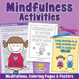 MINDFULNESS ACTIVITIES Coping Skills for Anxiety and Self