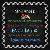 Mindfulness Mantras for Educators