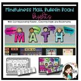 Mindfulness Math Bulletin Board