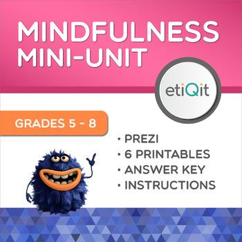 Mindfulness Middle School Mini-Unit | Prezi & Printable Activities