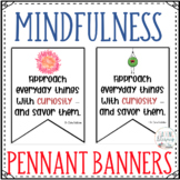 Mindfulness Pennant Banners and Booklist