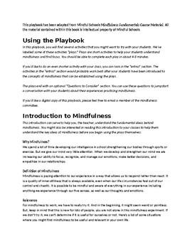 Mindfulness Playbook