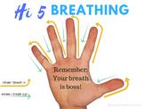 Mindfulness Poster Hi 5 Breathing