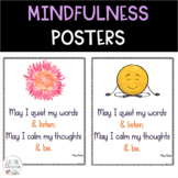 Mindfulness Posters and Booklist