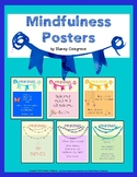 Mindfulness Classroom Posters : Affirmations, Meditation,