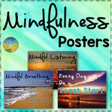 Mindfulness Posters - SEL Classroom Decor & Calming Corner