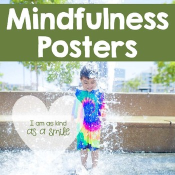 Mindfulness Posters for Kids