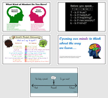 Mindfulness Posters for your classroom (Free!)