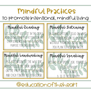 Mindfulness Practices for the Classroom