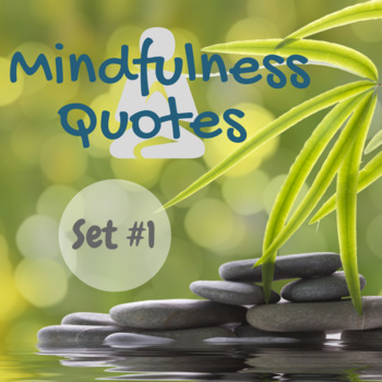 Mindfulness Quotes and Questions Set #1