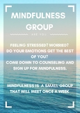 Mindfulness Recruitment Poster for Small Group