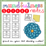 Mindfulness Sticky Notes