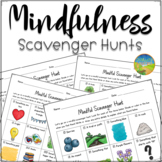 Mindfulness Scavenger Hunts - Distance Learning and Google