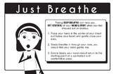Mindfulness Poster Strategies Just Breathe- PDF