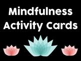 Mindfulness Activity Cards
