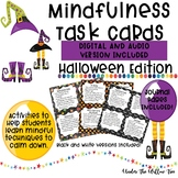 Mindfulness Task Cards / Brain Breaks  HALLOWEEN EDITION -Journal Pages Included