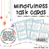 Mindfulness Task Cards - FREEBIE