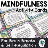 Mindfulness Task Cards | Distance Learning | Digital & Pri