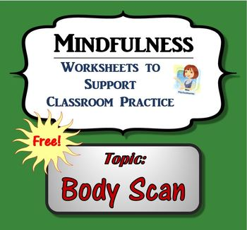 Mindfulness Worksheet - Body Scan