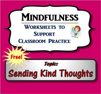Mindfulness Worksheet - Sending Kind Thoughts