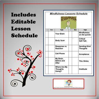 Mindfulness Worksheets BUNDLE