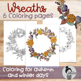 Mindful Coloring for Kids Autumn and Winter