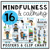 Mindfulness and Calming Posters and Clip Chart