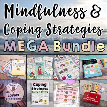 Mindfulness and Coping Strategies MEGA Bundle