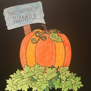 Mindfulness and Gratitude with a hint of Pumpkin Spice